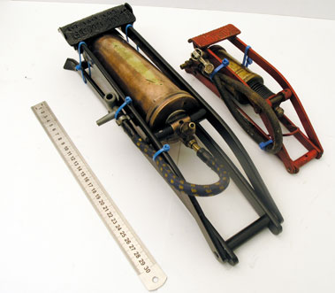 Lot 301-Two Early Foot Pumps