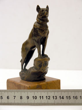 Lot 303-Standing Woolf Accessory Mascot