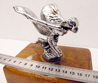Lot 307-Rolls-Royce Kneeling Lady Mascot