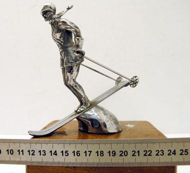 Lot 316-Riley Ski-Lady Mascot