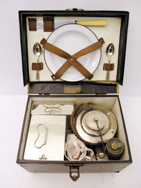 Lot 319-Coracle Two Person Picnic Set