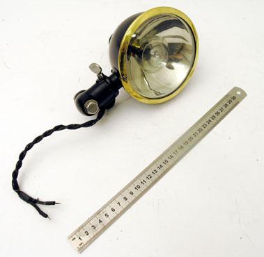 Lot 332-Windscreen Pillar Fitted Electric Spotlamp