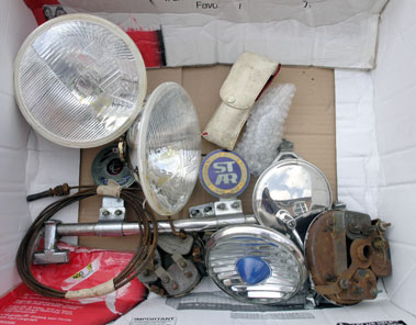 Lot 343-Assorted Spares