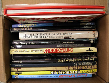 Lot 400-Quantity of Motorcycling Books