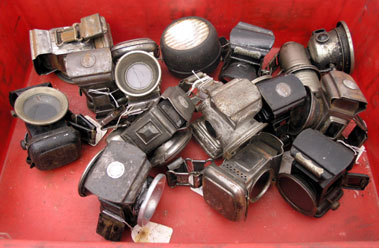 Lot 417-Assorted Cycle Lamps