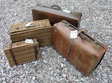 Lot 418-Four Luggage Cases