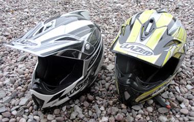 Lot 420-Two Child's Motocross Helmets