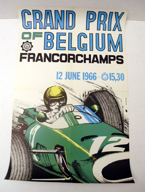 Lot 500-Three Race Event Posters