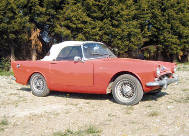 Lot 1-1960 Sunbeam Alpine