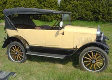 Lot 3-1925 Willys Overland Model 91 Tourer