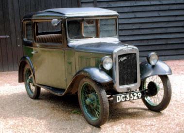 Lot 7-1931 Austin Seven Box Saloon