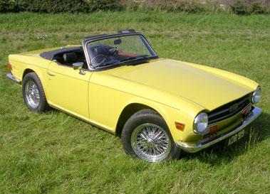 Lot 8-1973 Triumph TR6