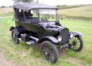 Lot 9-1917 Ford Model T Tourer