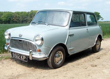 Lot 13-1964 Austin Mini 850