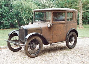 Lot 15-1927 Austin Seven Mulliner Saloon