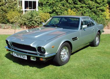 Lot 23-1980 Aston Martin V8