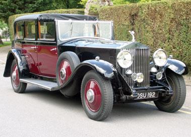 Lot 26-1932 Rolls-Royce Phantom II Limousine de Ville
