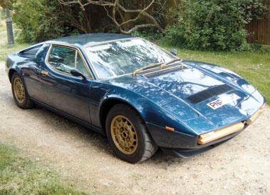 Lot 28-1978 Maserati Merak