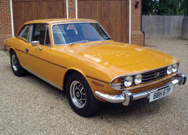 Lot 31-1976 Triumph Stag
