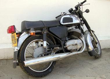 Lot 7-1980 Jawa 350cc