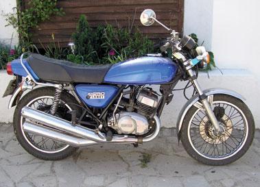 Lot 8-1978 Kawasaki KH250