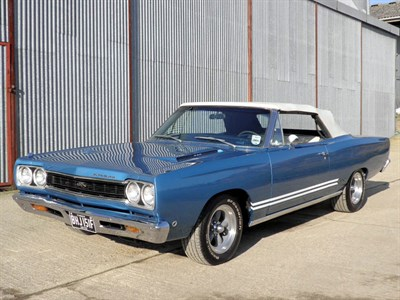 Lot 46-1968 Plymouth GTX 440 Convertible