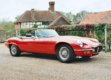 Lot 35-1974 Jaguar E-Type V12 Roadster
