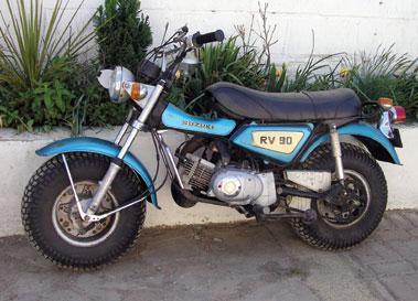 Lot 20-Suzuki RV90