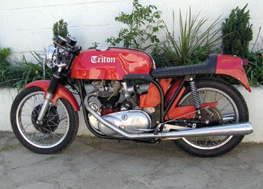 Lot 24-1970 Triton T110