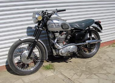 Lot 26-1957 Triumph TR5 Trophy