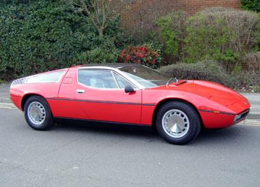 Lot 37-1973 Maserati Bora