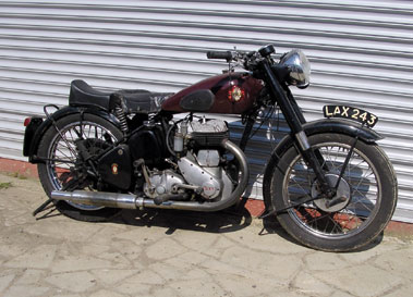 Lot 33-c1952 BSA M21