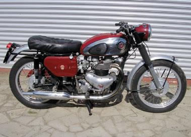 Lot 38-1961 Matchless CSR
