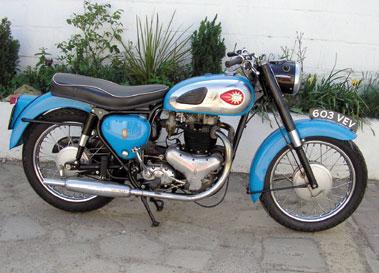 Lot 39-1961 BSA A10 Golden Flash