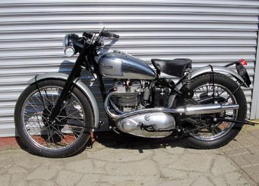 Lot 46-1953 Triumph TR5 Trophy