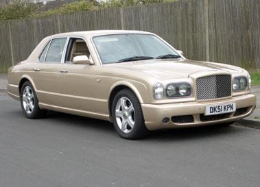 Lot 44-2001 Bentley Arnage T