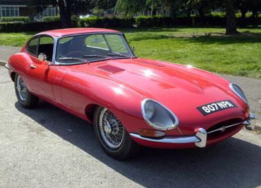Lot 45-1962 Jaguar E-Type 3.8 Coupe
