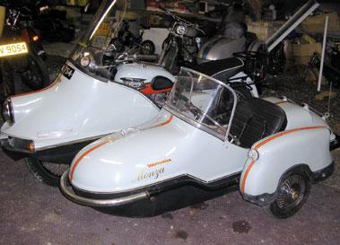 Lot 52-1958 Triumph T120 Bonneville Combination