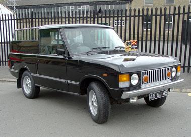 Lot 48-1982 Range Rover Ceremonial Vehicle
