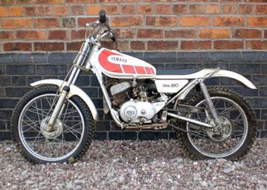 Lot 57-Yamaha TY80