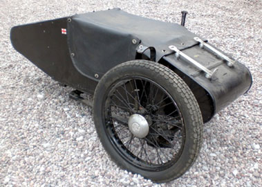 Lot 58-Sunbeam Sidecar & Assorted Spares