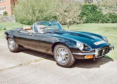 Lot 50-1975 Jaguar E-Type V12 Roadster Commemorative Edition