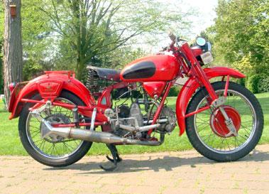 Lot 59-1950 Moto Guzzi Airone
