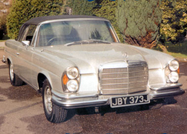 Lot 53-1970 Mercedes-Benz 280 SE 3.5 Cabriolet