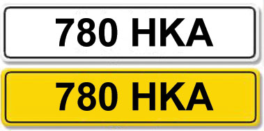 Lot 1-Registration Number 780 HKA