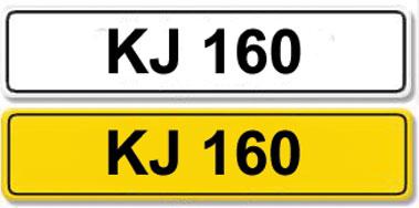 Lot 3-Registration Number KJ 160