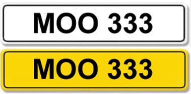 Lot 5-Registration Number MOO 333