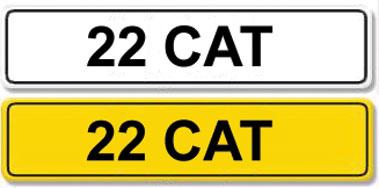 Lot 7-Registration Number 22 CAT
