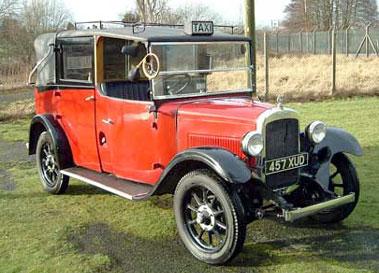 Lot 55-1935 Austin 12/4 Heavy Landaulette Taxicab