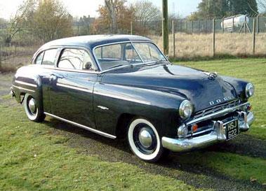 Lot 56-1951 Dodge Wayfarer Sedan
